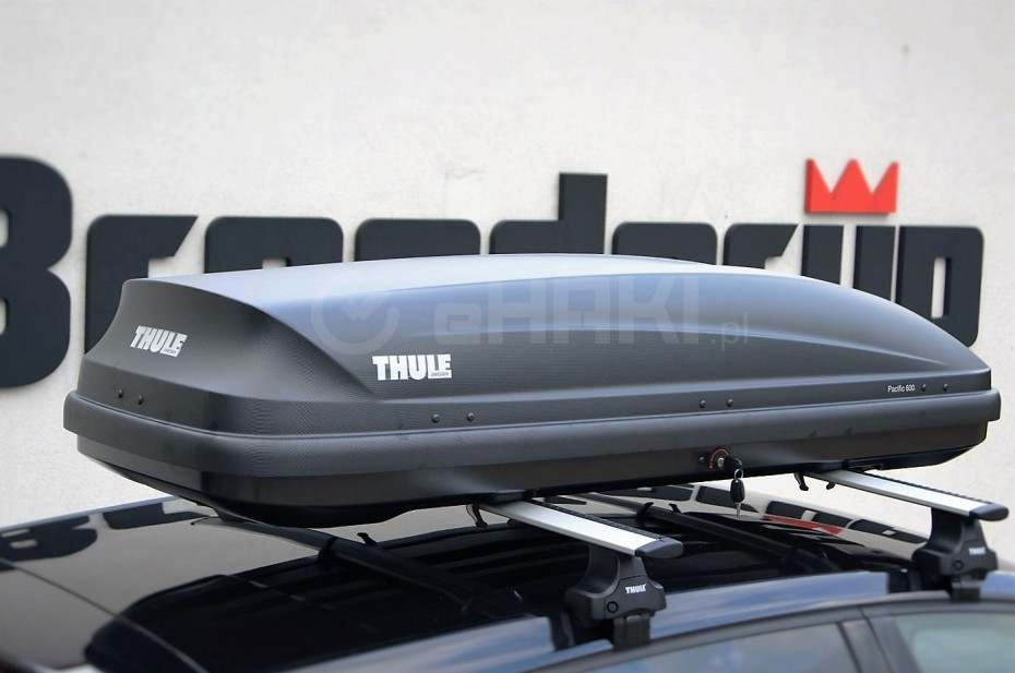 thule pacific 600 antracyt aeroskin. Black Bedroom Furniture Sets. Home Design Ideas